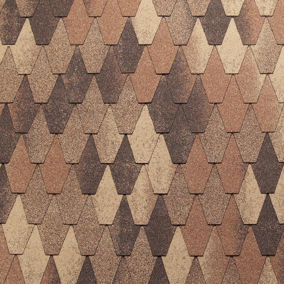 Tegola Castello Wood Shake